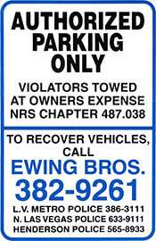 Sample Impound Sign